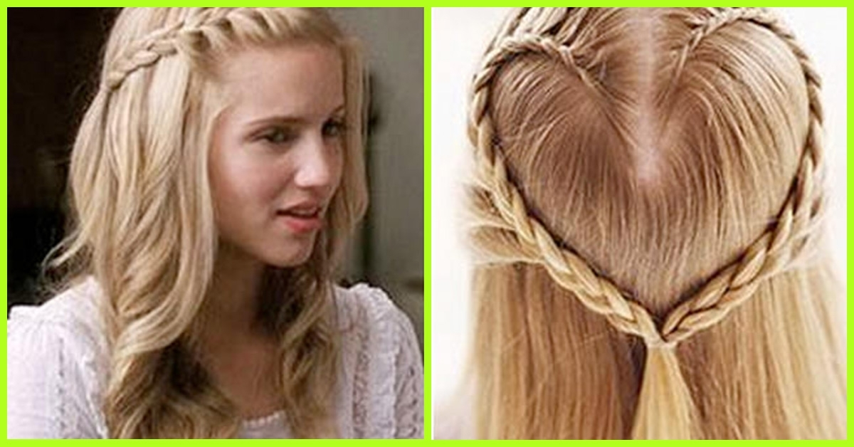 20 Adorable Hairstyles For School Girls With 2 Minute Side Pony Hairstyles (View 9 of 25)