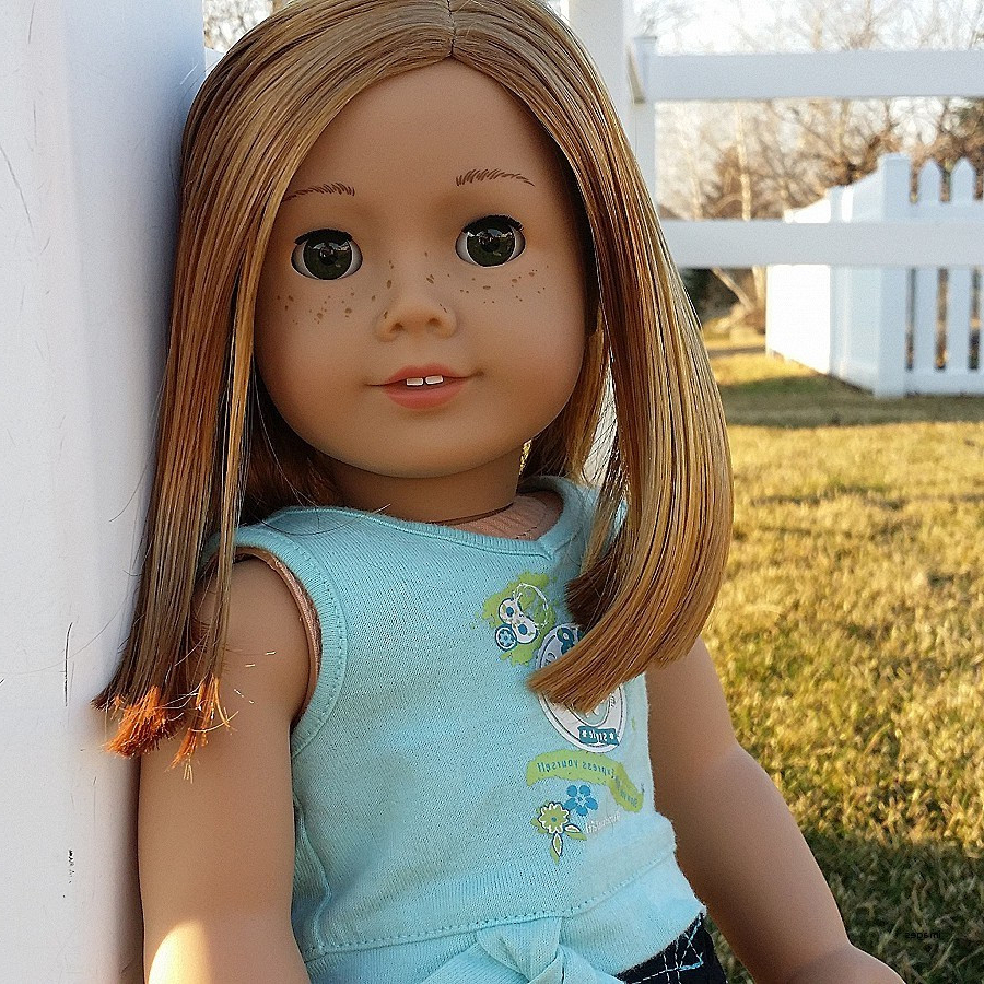 20 American Girl Doll Hairstyles For Short Hair – Razanflight Intended For Hairstyles For American Girl Dolls With Short Hair (View 18 of 25)