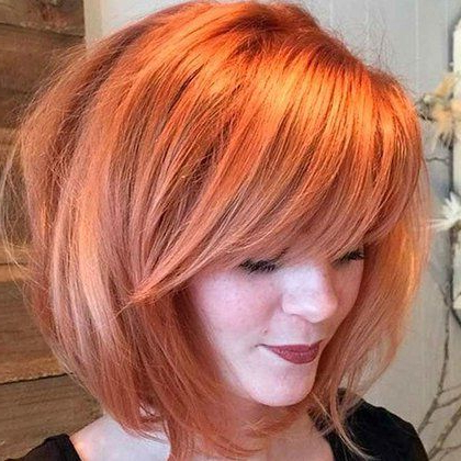 20 Best Hairstyles For Women With Shoulder Length Hair In 2018 In Burgundy And Tangerine Piecey Bob Hairstyles (View 21 of 25)