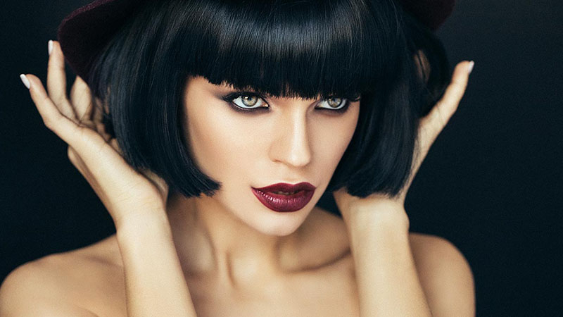 20 Best Inverted Bob Haircuts For Women – The Trend Spotter Pertaining To Sleek Rounded Inverted Bob Hairstyles (View 14 of 25)