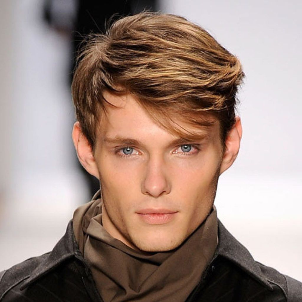 20 Best Men's Haircuts For A Big Forehead And A Round Face Inside Short Haircuts For Large Foreheads (View 5 of 25)