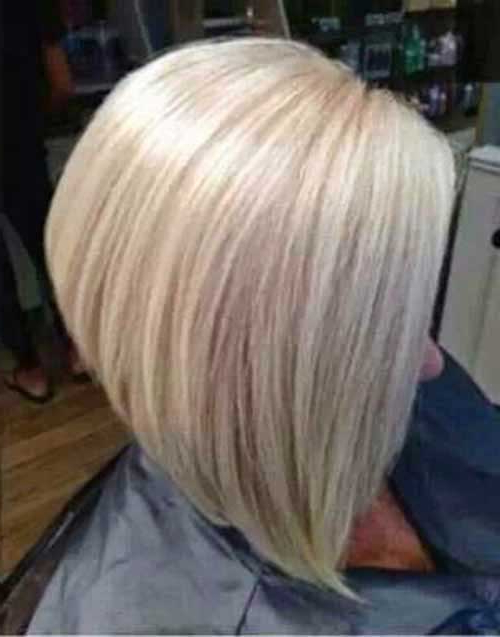 20 Best Short Bleached Blonde Hair | Short Hairstyles 2017 – 2018 With Regard To Short Blonde Inverted Bob Haircuts (View 20 of 25)