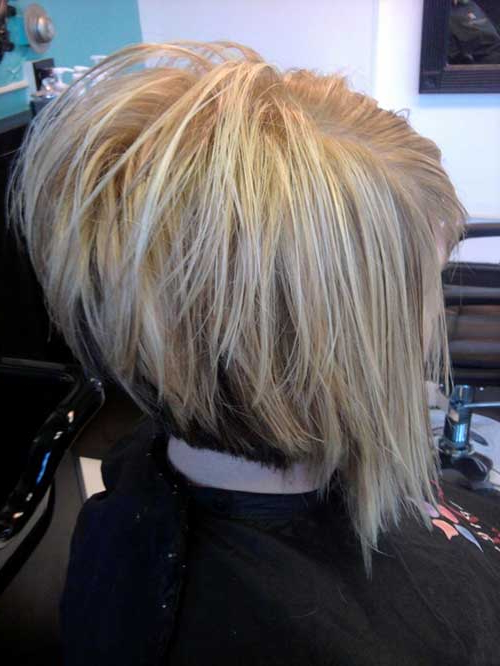 20 Best Stacked Layered Bob | Bob Hairstyles 2018 – Short Hairstyles For Stacked Choppy Blonde Bob Haircuts (View 19 of 25)