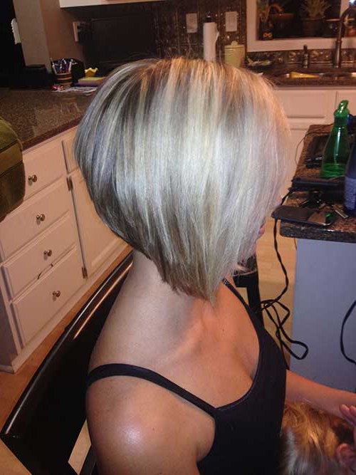 20 Best Stacked Layered Bob | Bob Hairstyles 2018 – Short Hairstyles Regarding Stacked Choppy Blonde Bob Haircuts (View 23 of 25)
