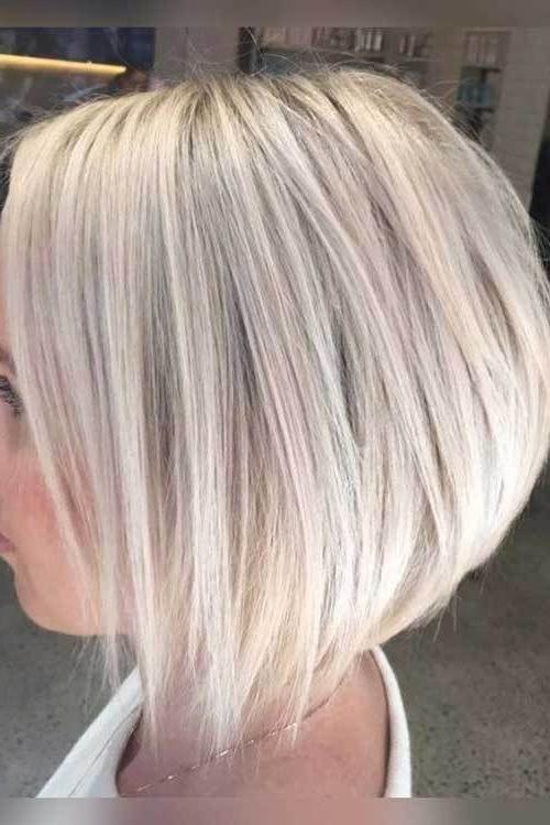 20 Bob Haircuts You Just Want To Try | Animals | Pinterest | Hair Inside Short Crisp Bronde Bob Haircuts (View 7 of 25)