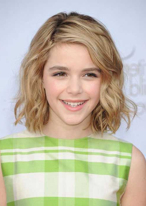 20 Bob Hairstyles For Girls   Bob Hairstyles 2018 – Short Hairstyles Throughout Adorable Wavy Bob Hairstyles (View 24 of 25)
