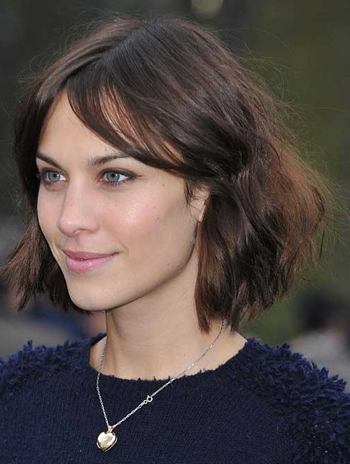 20 Brunette Bob Hairstyles 2014 | Short Hair Inside Brunette Bob Haircuts With Curled Ends (View 5 of 25)