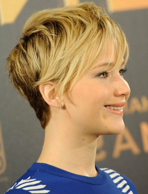 20 Chic Pixie Haircuts For Short Hair – Popular Haircuts For Sleeked Down Pixie Hairstyles With Texturizing (View 13 of 25)
