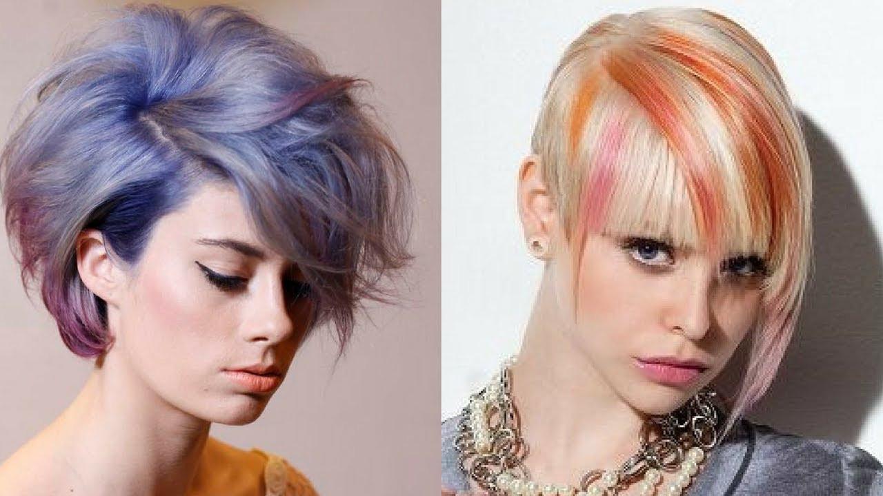20 Cute Hair Color For Short Hair – Razanflight Pertaining To Cute Color For Short Hair (View 24 of 25)