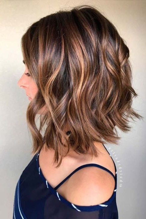 20 Cute Long Bob Hairstyles To Try   [Hair] Trends   Pinterest With Perfectly Angled Caramel Bob Haircuts (View 7 of 25)