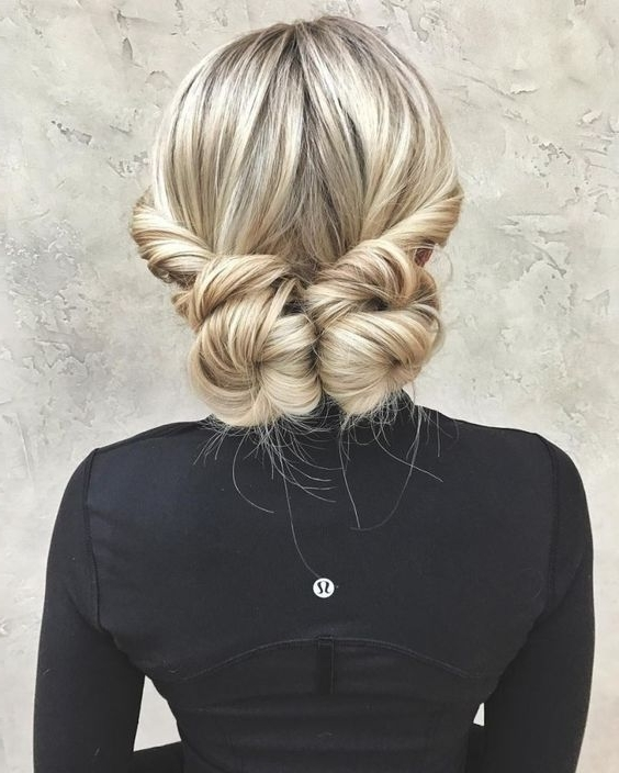 20 Date Night Hair Ideas To Capture All The Attention | Hair Intended For Twisted And Pinned Blonde Ponytails (View 5 of 25)