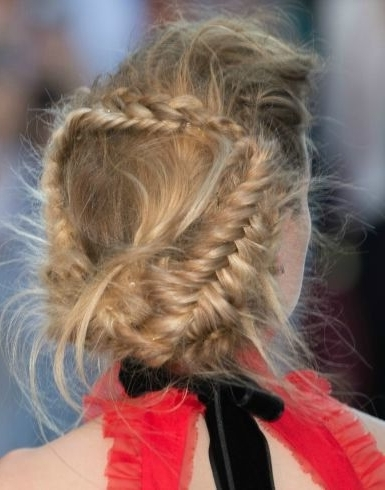 20 Different Ways To Wear Braids | Beauty: Hair | Pinterest | Amber With Regard To Braided Maze Low Ponytail Hairstyles (View 1 of 25)