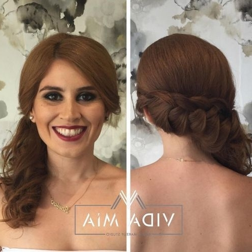 20 Easy French Braid Ponytails You May Want To Copy – Hairstyles Weekly Within Loosely Braided Ponytail Hairstyles (View 10 of 25)
