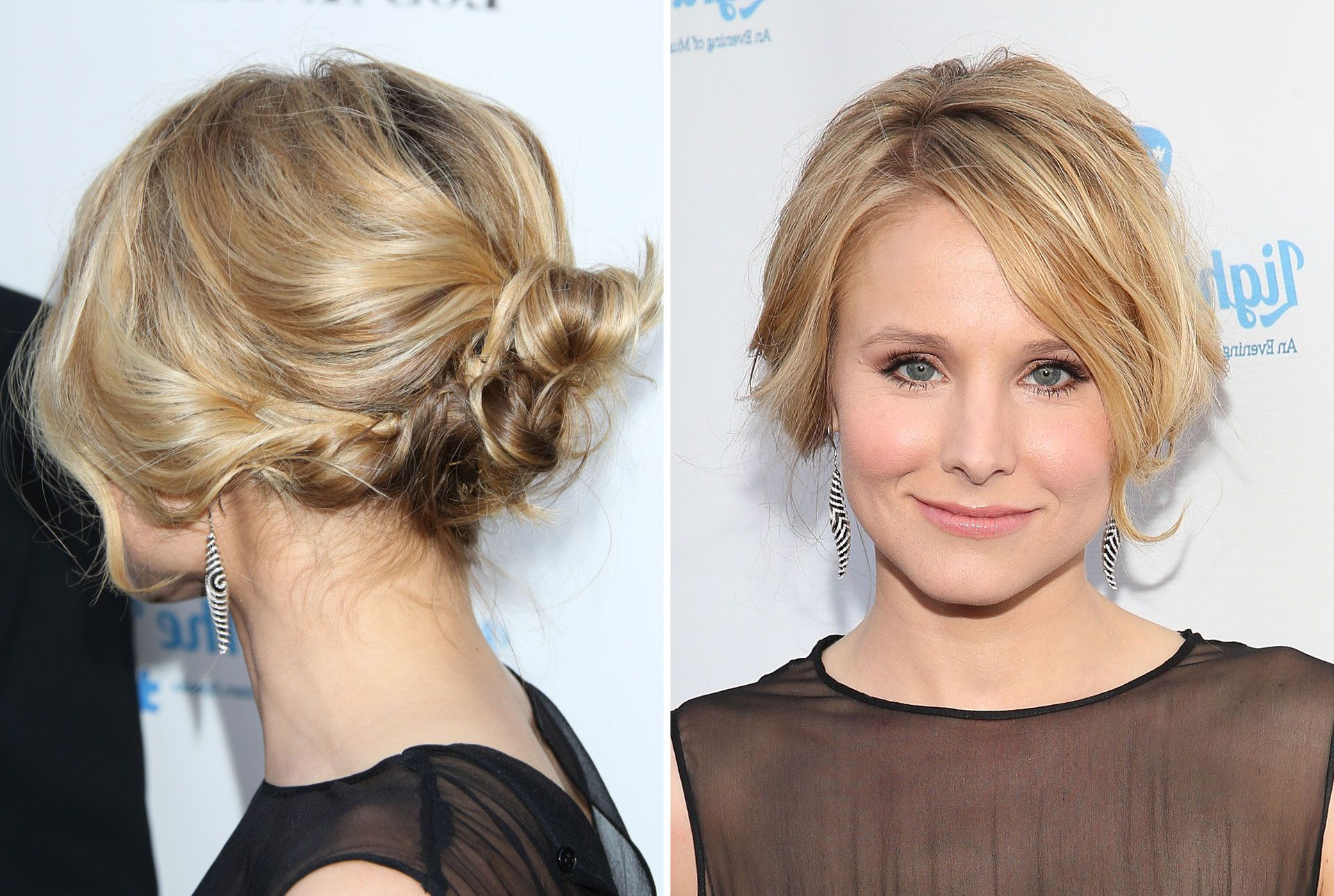 20 Easy Wedding Guest Hairstyles – Best Hair Ideas For Wedding Guests Pertaining To Hairstyles For Short Hair For Wedding (View 20 of 25)