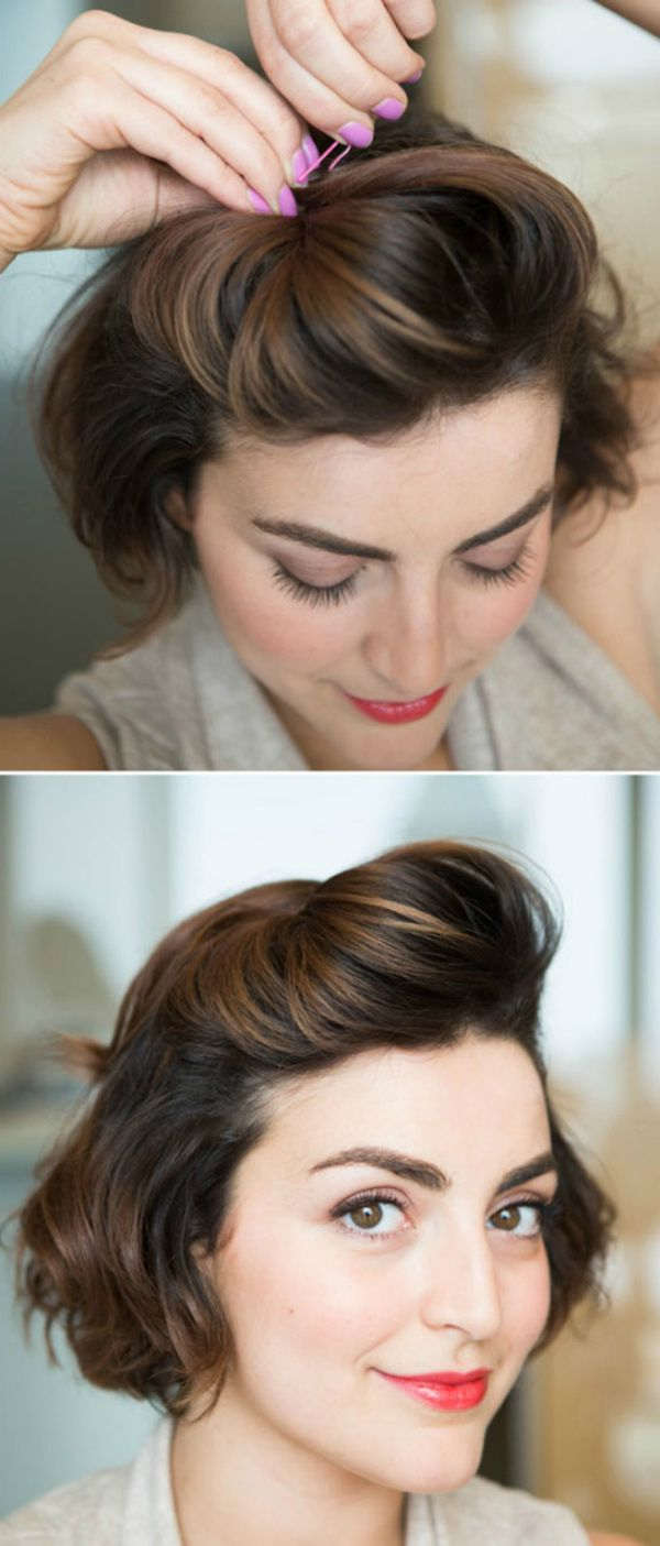 20 Effortless Chic Short Prom Hairstyles | Styles Weekly Throughout Prom Short Hairstyles (View 15 of 25)