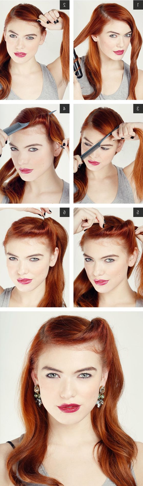 20 Elegant Retro Hairstyles 2018 – Vintage Hairstyles For Women Pertaining To Vintage Hairstyle For Short Hair (View 14 of 25)