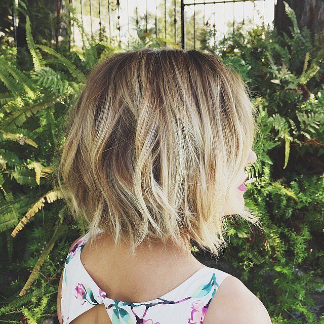 20 Glamorous Bob Hairstyles For Fine Hair: Easy Short Hair – Popular Throughout Stacked Choppy Blonde Bob Haircuts (View 20 of 25)