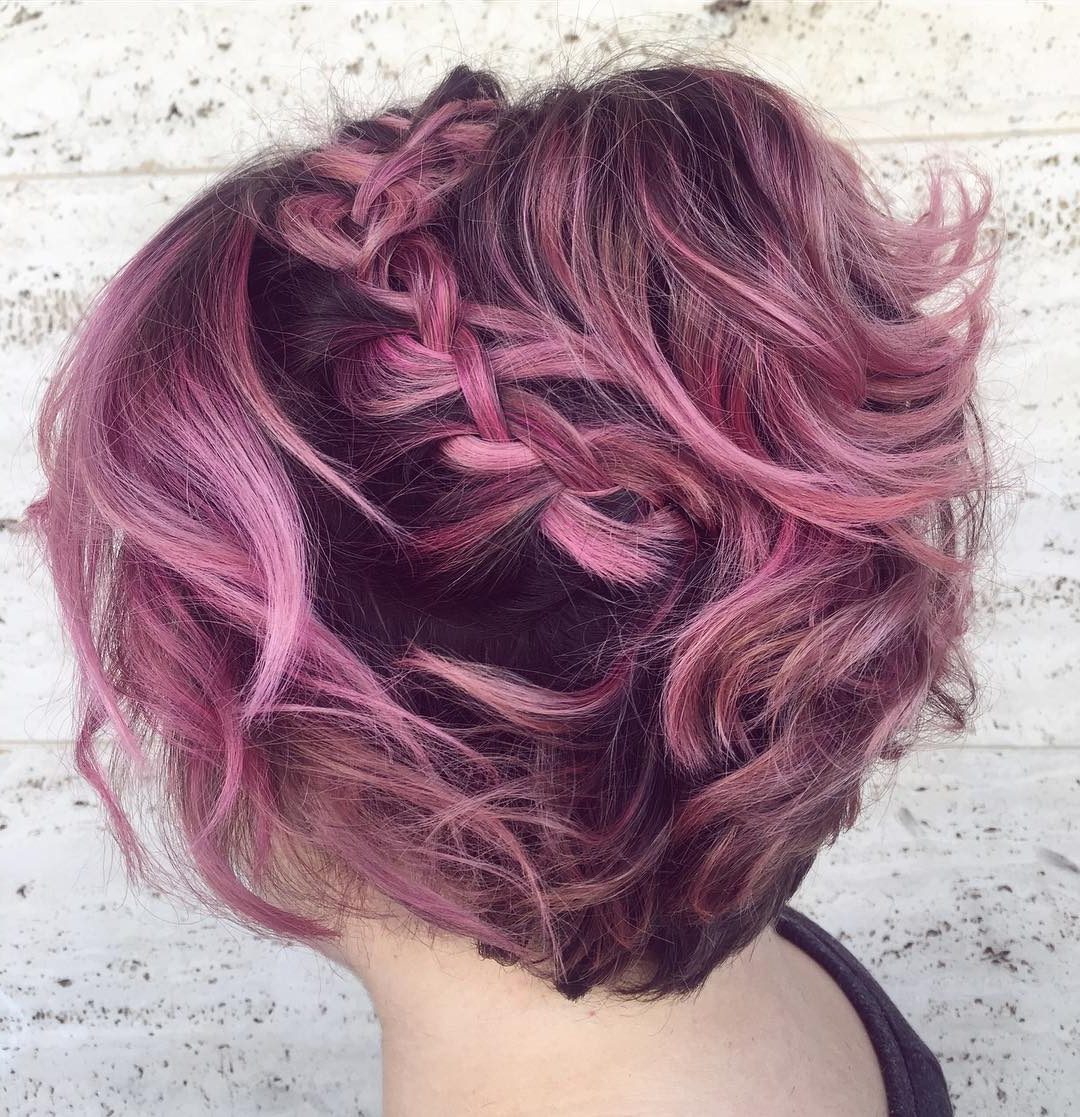 20 Gorgeous Prom Hairstyle Designs For Short Hair: Prom Hairstyles 2017 Intended For Short Hairstyles For Prom (View 15 of 25)