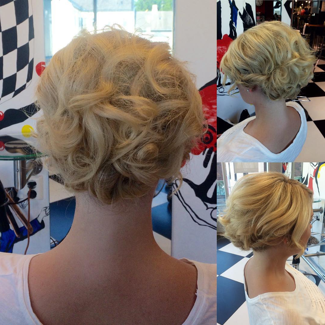 20 Gorgeous Prom Hairstyle Designs For Short Hair: Prom Hairstyles 2017 With Cute Short Hairstyles For Homecoming (View 22 of 25)