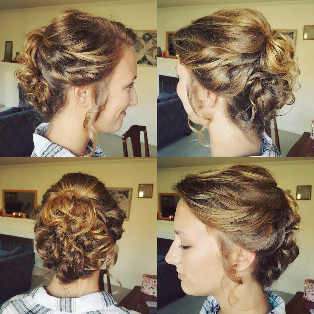 20 Gorgeous Prom Hairstyle Designs For Short Hair: Prom Hairstyles 2017 Within Short Hairstyles For Prom Updos (View 16 of 25)