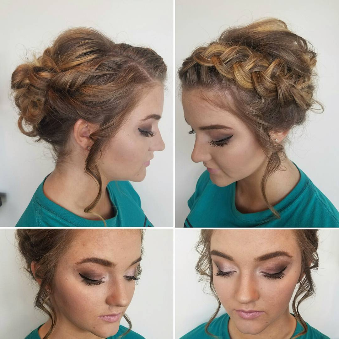 20 Gorgeous Prom Hairstyle Designs For Short Hair: Prom Hairstyles 2019 For Prom Short Hairstyles (View 3 of 25)