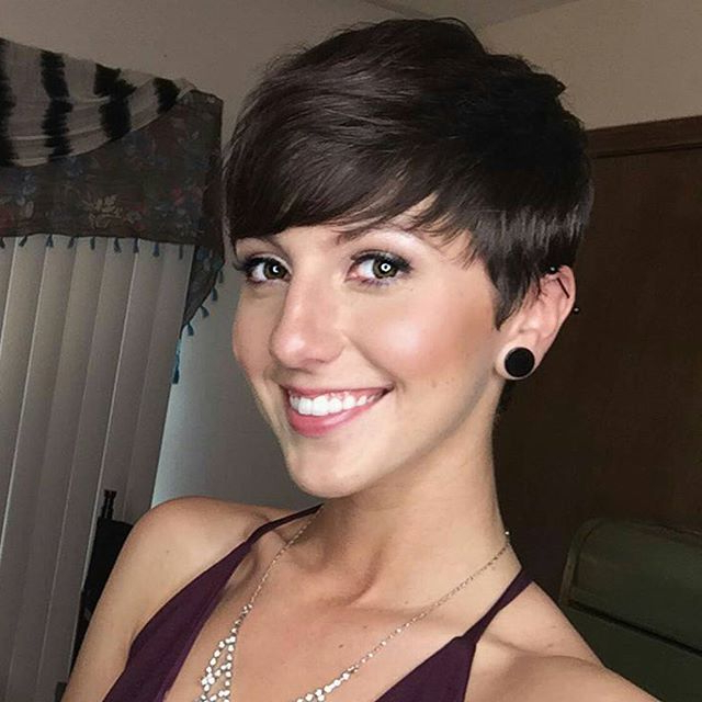 20 Gorgeous Short Pixie Haircut With Bangs – Short Haircuts For With Long Pixie Hairstyles With Bangs (View 22 of 25)