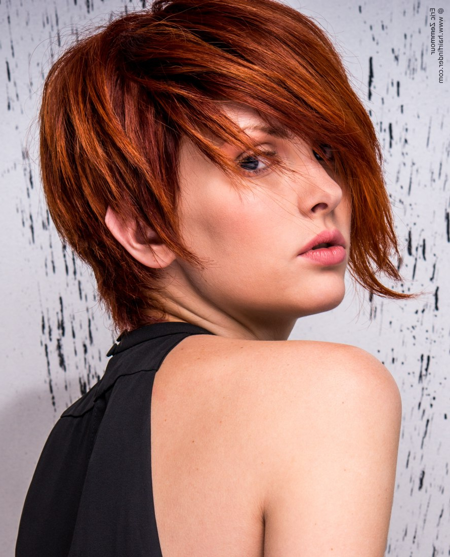 20 Great Short Hairstyles For Thick Hair   Styles Weekly In Bright Red Short Hairstyles (View 16 of 25)