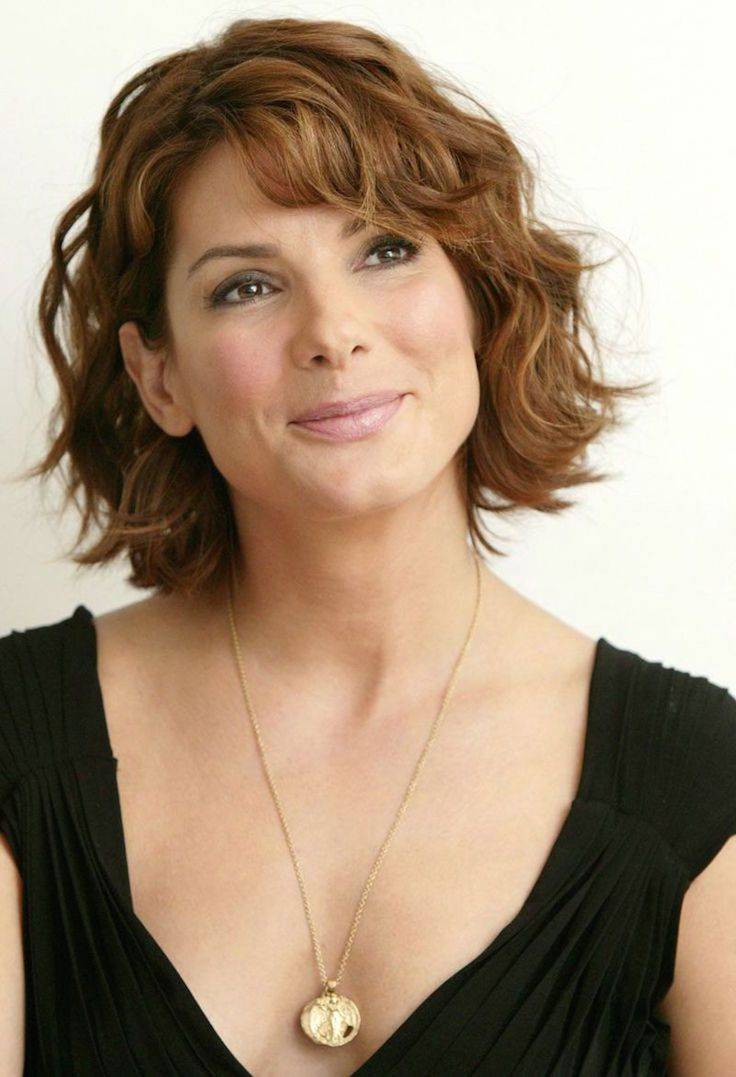 20 Hairstyles For Older Women   Lori's Hair Styles   Pinterest In Short Haircuts For Wavy Thick Hair (View 3 of 25)