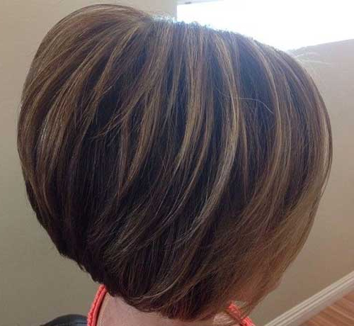 20 Highlighted Bob Hairstyles   Bob Hairstyles 2018 – Short Inside Short Crop Hairstyles With Colorful Highlights (View 11 of 25)