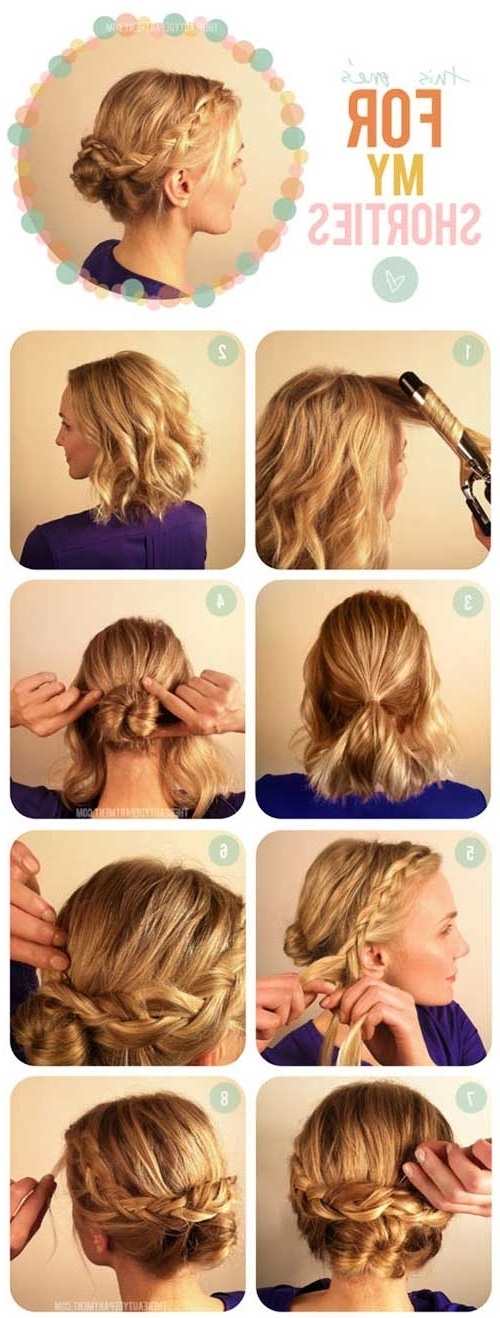 20 Incredible Diy Short Hairstyles With Pony And Dutch Braid Combo Hairstyles (View 16 of 25)