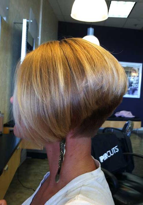 20+ Inverted Bob Haircuts | Short Hairstyles 2017 – 2018 | Most With Short Blonde Inverted Bob Haircuts (View 2 of 25)