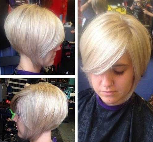 20 Inverted Bob Hairstyles | Short Hairstyles 2017 – 2018 | Most With Short Tapered Bob Hairstyles With Long Bangs (View 5 of 25)