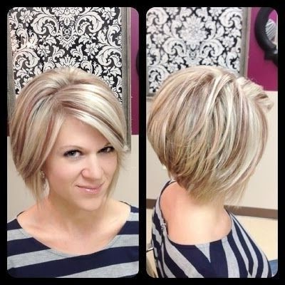 20 Layered Short Hairstyles For Women | Styles Weekly Inside Cute Shaped Crop Hairstyles (View 3 of 25)