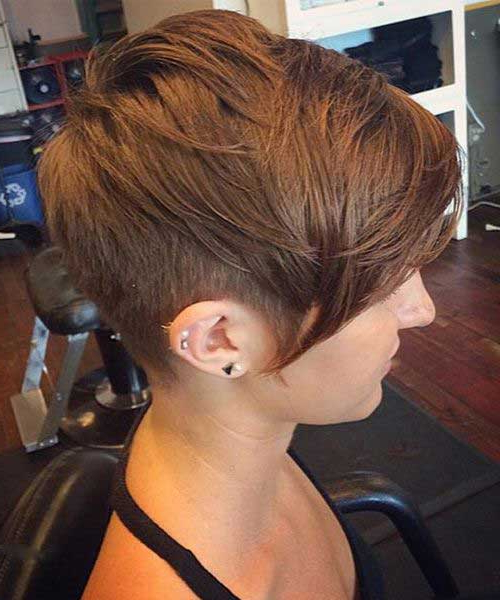 20 Long Pixie Haircut For Thick Hair | Hairstyles & Haircuts 2016 – 2017 Pertaining To Pixie Haircuts With Short Thick Hair (View 9 of 25)