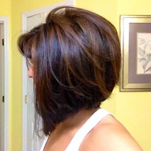 20 New Brown Bob Hairstyles | Short Hairstyles 2017 – 2018 | Most With Layered Caramel Brown Bob Hairstyles (View 4 of 25)