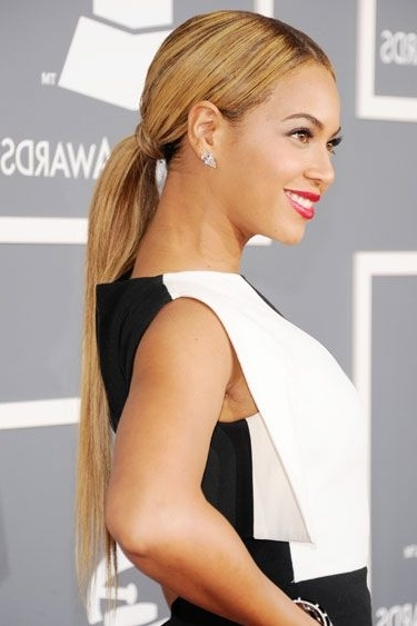 20 New Ways To Wear A Ponytail | Beauty & Hair | Pinterest In Sleek Ladylike Ponytail Hairstyles (View 7 of 25)