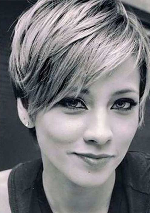 Featured Photo of Long Pixie Hairstyles With Bangs