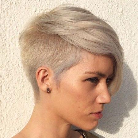 20 Popular Short Ash Blonde Hairstyles – Blonde Hairstyles 2017 Throughout Ash Blonde Undercut Pixie Haircuts (View 17 of 25)