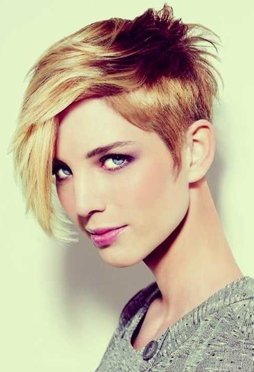 20 Popular Short Haircuts For Thick Hair | Hair Cuts | Pinterest Intended For Asymmetrical Haircuts For Thick Hair (View 7 of 25)