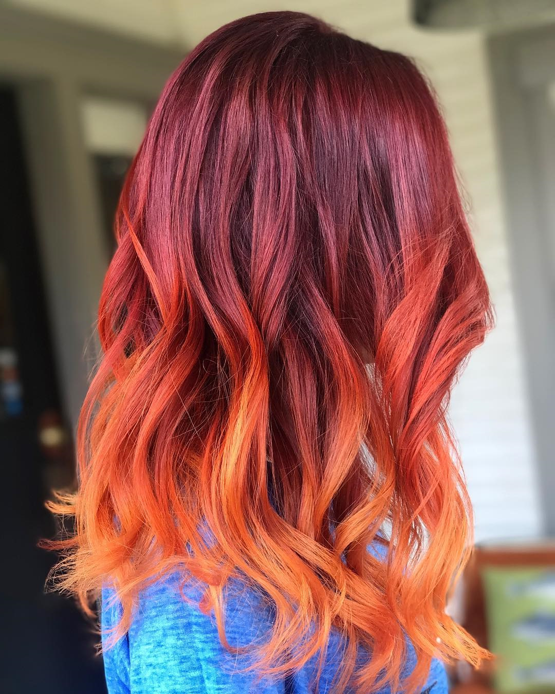20 Radical Styling Ideas For Your Red Ombre Hair Regarding Fire Red Short Hairstyles (View 5 of 25)