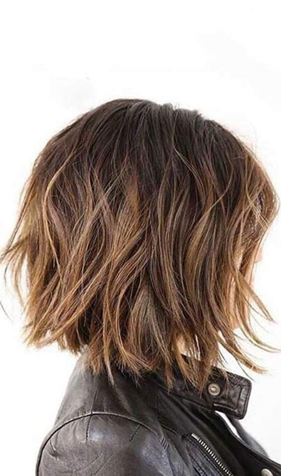 Featured Photo of Messy Choppy Layered Bob Hairstyles