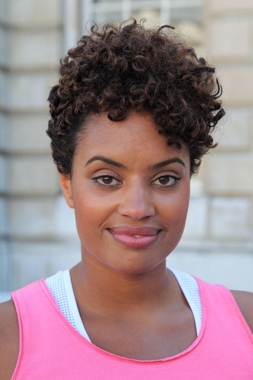 20 Short Curly Hairstyles For Black Women Inside Curly Short Hairstyles Black Women (View 1 of 25)