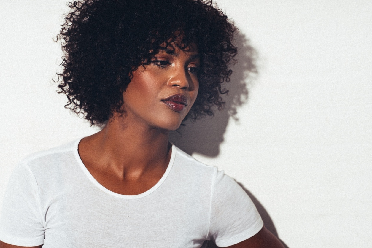 20 Short Curly Hairstyles For Black Women With Short Haircuts For Curly Black Hair (View 16 of 25)
