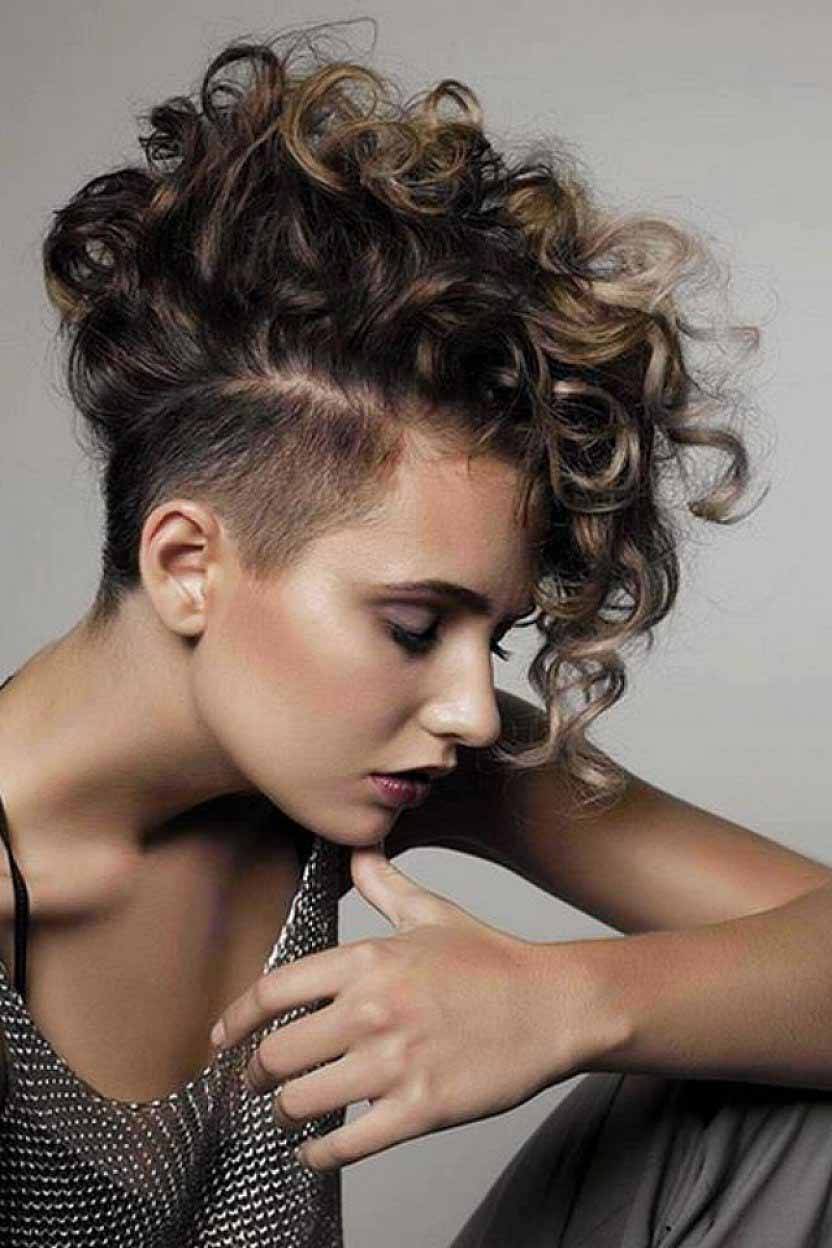 20 Short Curly Hairstyles That Are Always In Vogue! | Livinghours Intended For Women Short Hairstyles For Curly Hair (View 5 of 25)
