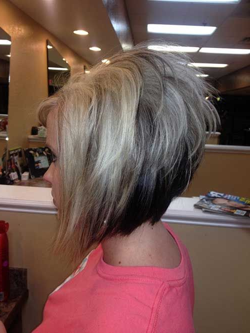 20 Short Hairstyle Color Ideas In 2018 | Hair | Pinterest | Hair With Angled Burgundy Bob Hairstyles With Voluminous Layers (View 7 of 25)