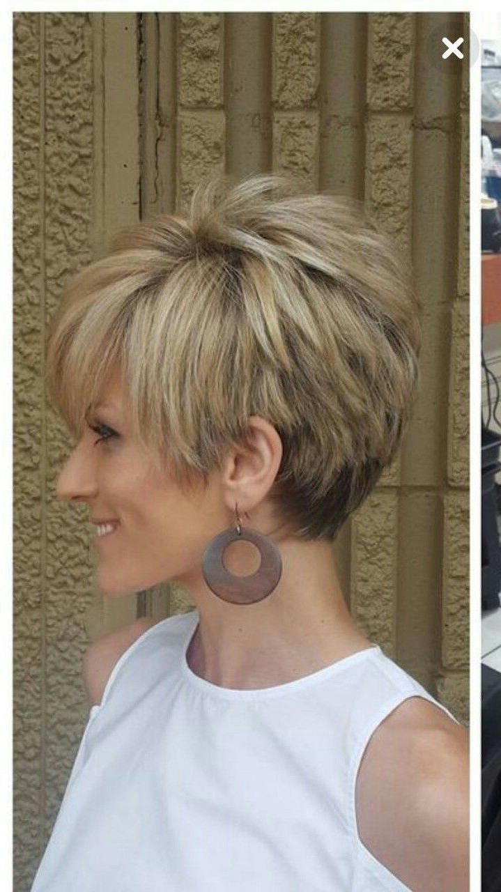 20 Short Hairstyles Cut Around The Ears New Side View Hairstyles Within Short Hairstyles Cut Around The Ears (View 12 of 25)