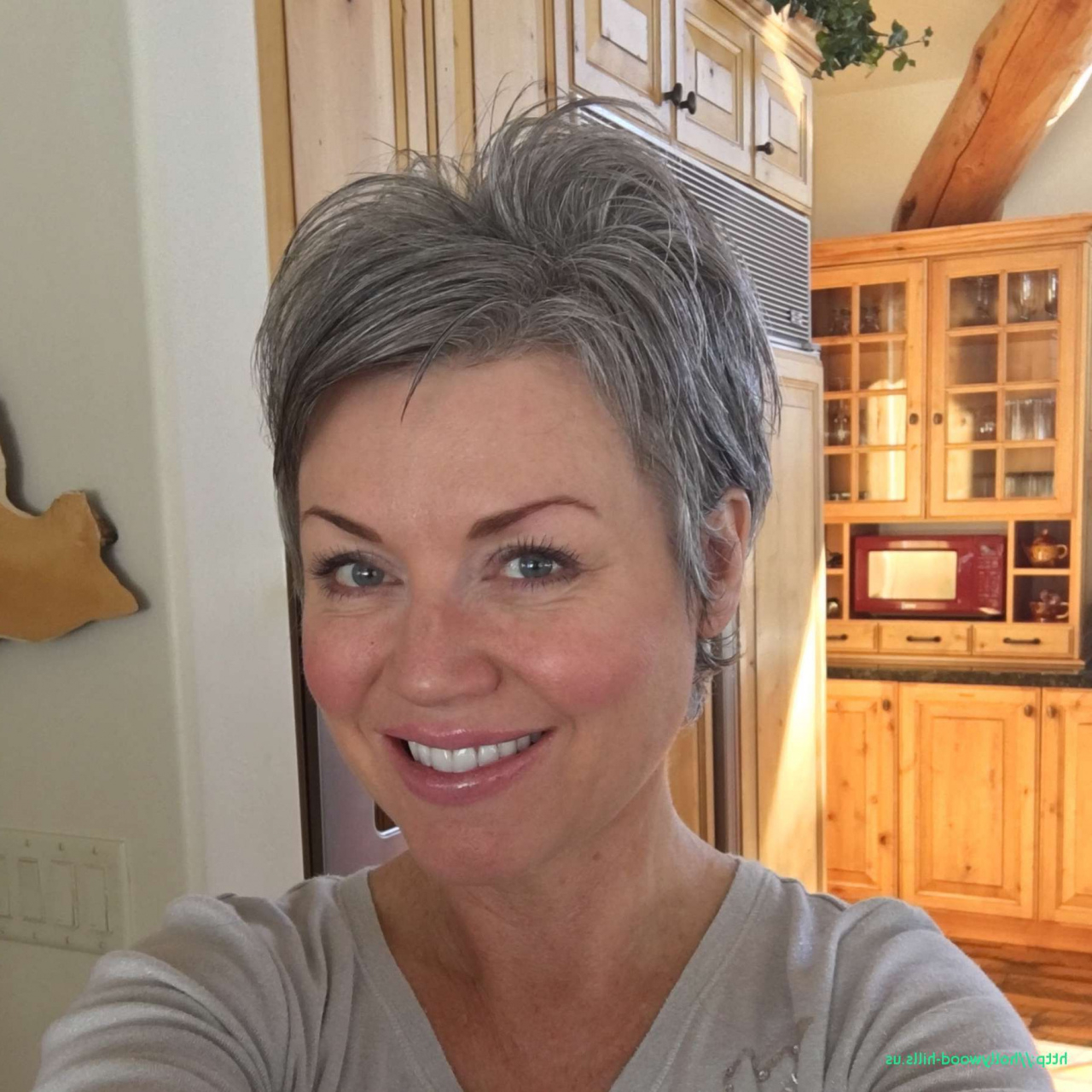 20 Short Hairstyles For Gray Hair Beautiful Hairstyles For Grey Hair Regarding Gray Hair Short Hairstyles (View 18 of 25)