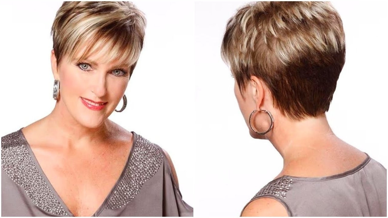 20 Short Hairstyles For Women Over 60 With Thin Hair New Short Pertaining To Short Hairstyles For Women Over 40 With Thin Hair (View 21 of 25)