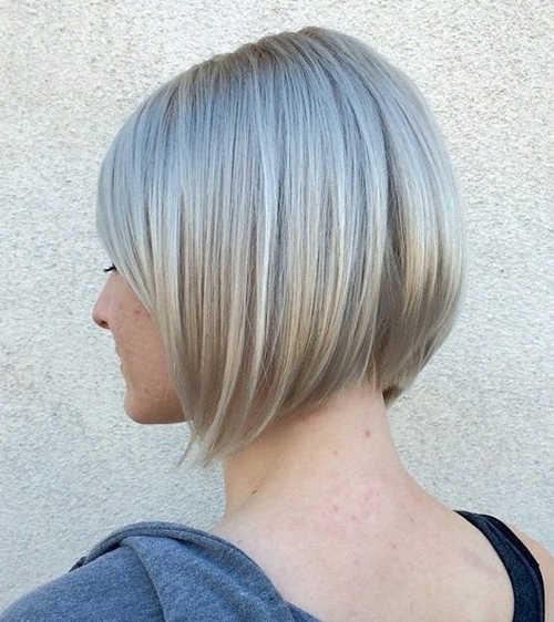 20 Short Stacked Bob Hairstyles That Look Great On Everyone – Pretty For Stacked Black Bobhairstyles  With Cherry Balayage (View 23 of 25)