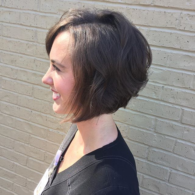 20 Spectacular Angled Bob Hairstyles – Pretty Designs Within Side Parted Asymmetrical Gray Bob Hairstyles (View 23 of 25)